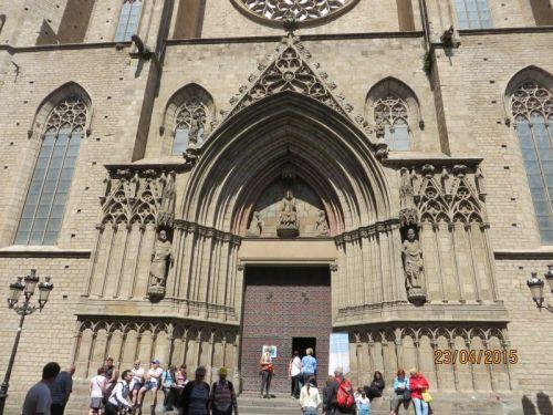 Portal of Santa Maria del Mar, Barcelona