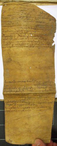 Arxiu Capitular de Vic, calaix 6, núm. 1300, verso
