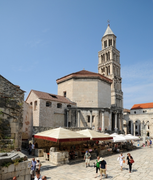 The cathedral of St Domnius, Split