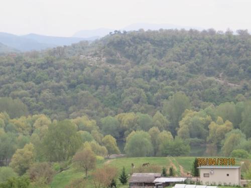 View of Savassona from the end of the l'Esquerda peninsula, Roda de Ter