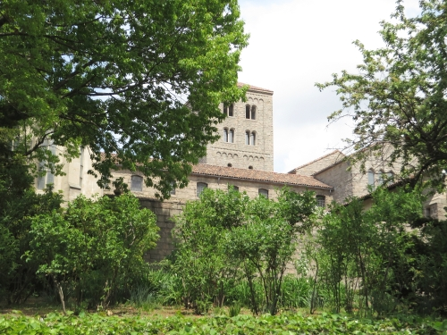 Exterior view of the Cloisters, Metropolitan Museum of New York