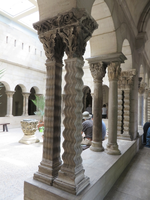 The Saint-Guilhem cloister at the Cloisters, Metropolitan Museum of New York