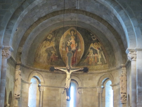 The Fuentidueña Apse, the Cloisters, Metropolitan Museum of New York