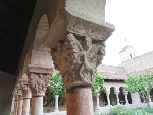 Bonnefont Cloister, at the Cloisters, Metropolitan Museum of New York