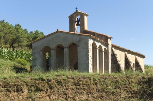 The hermitage of Sant Segimon del Bosc as it now stands