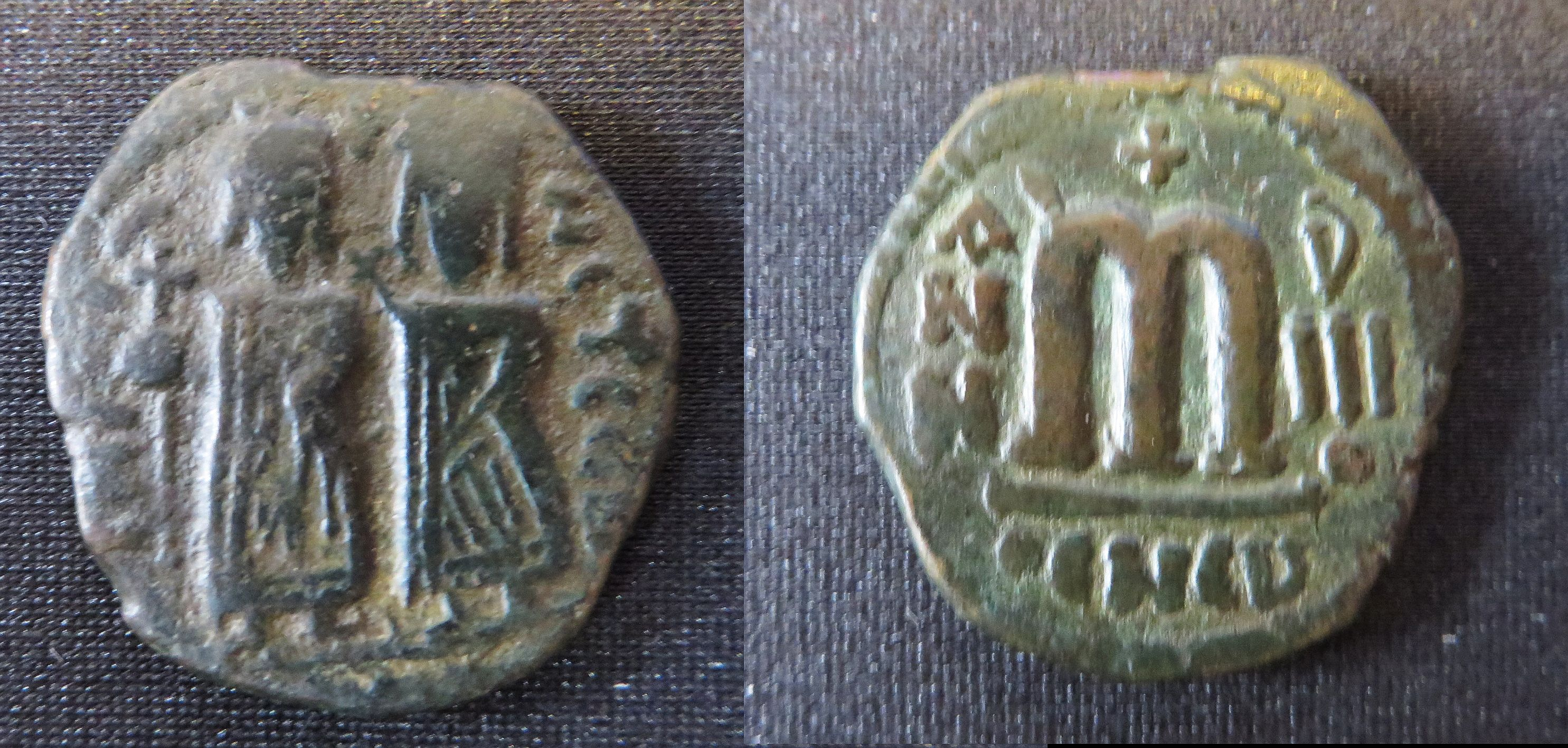 Coins: Ancient Ancient Byzantine Phocas Bronze Follis Coin 7th Century Ad Fast Color Byzantine (300-1400 Ad)