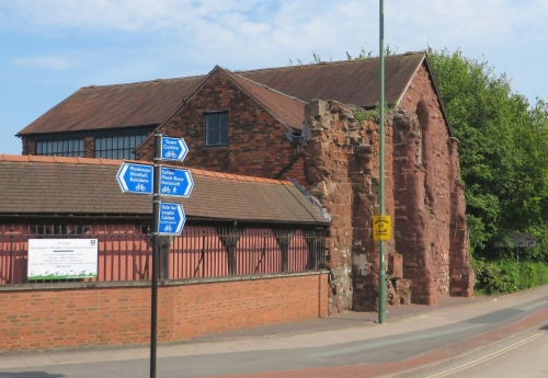 Gatehouse of the Abbey of the Holy Cross, Shrewsbury