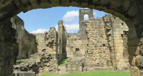 Abbot's residence at Kirkstall Abbey