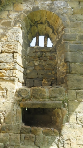 Multiply-blocked window at Kirkstall Abbey