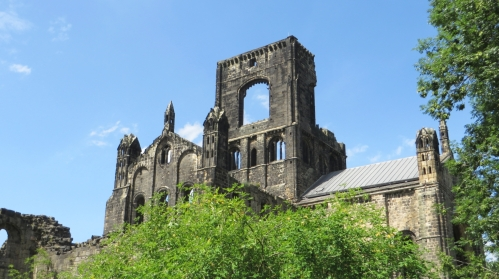 Tower and transept of Kirkstall Abbey