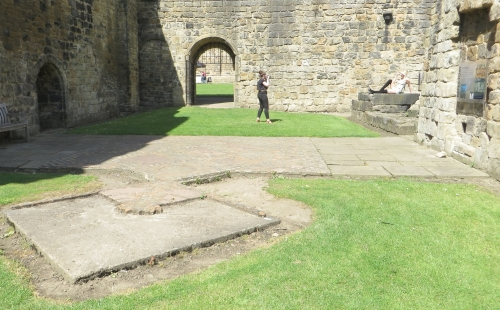 Modelling photoshoot observed at Kirkstall abbey
