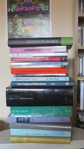 Books bought at the 2015 International Medieval Congress, Leeds