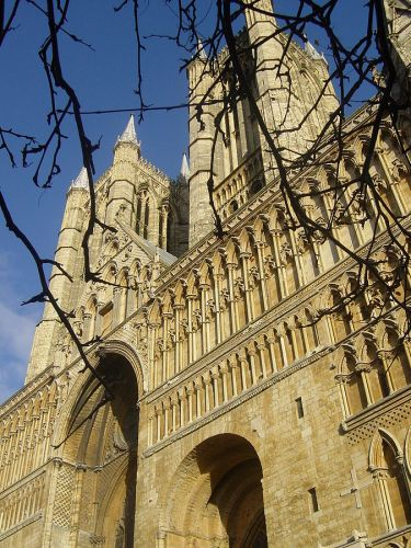 West front of Lincoln Cathedral