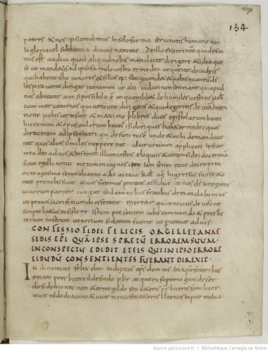 Bibliothèque Carnegie de Reims, MS 385, fo. 134r