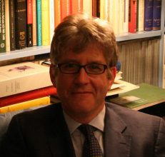 Dr Mark Whittow at Corpus Christi College, Oxford