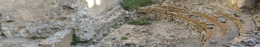 View across the Odeon, Taormina