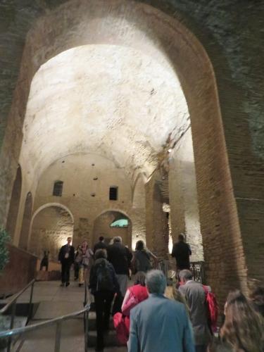 Entryway to the Greco-Roman theatre, Taormina, Sicily