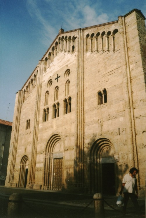 Romanesque church of San Michele Maggiore di Pavia