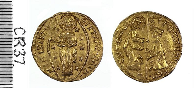 Adaptable Ancient Byzantine Coin Jesus Christ King Of Kings 1003-1025 A.d Byzantine (300-1400 Ad) 1000 Years Old! Coins: Ancient