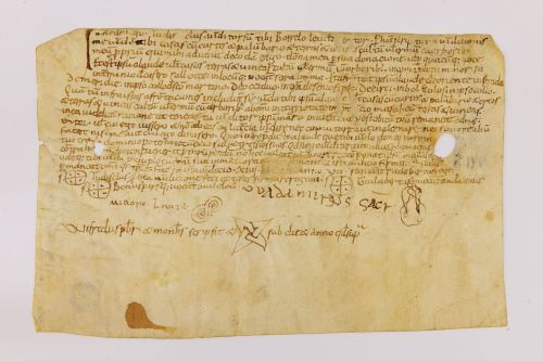 Montserrat, Arxiu Monàstic, Pergamins Sant Benet de Bages, primera sèrie, no. 57