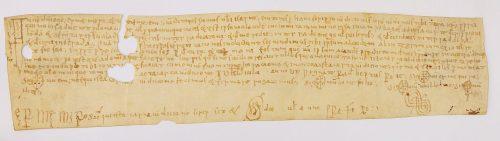Montserrat, Arxiu Monàstic, Pergamins Sant Benet de Bages, primera sèrie, no. 58