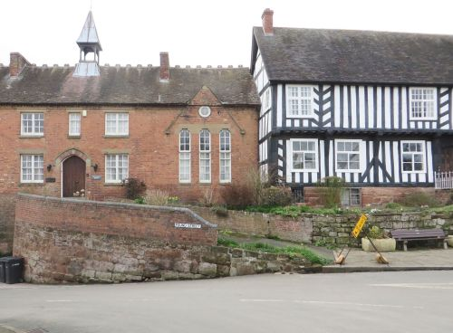 Early modern buildings in Claverley