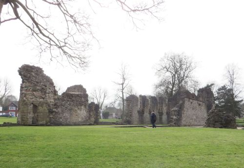 Ruins of Dudley Priory