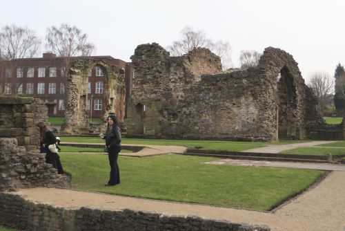 Ruins of the Priory of St James, Dudley