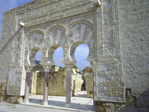 Gate of Ya'far at the palace of Madinat al-Zahra', near Córdoba