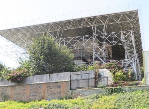 The Kariye Museum, Istanbul, under repair