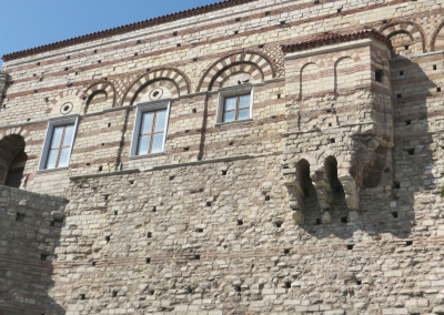 Rear aspect of the Tekfur Sarayı Müsezi, Istanbul