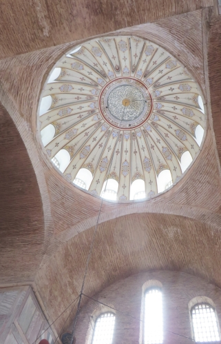 Interior of the dome of the Kalenderhane Camii, Istanbul