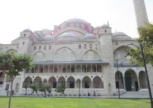 Eastern exterior of the Sulemaniye Camil, Istanbul