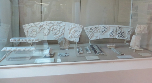 Ornamental sculptural fragments from the Boukoleon Palace, Constantinople, in the İstanbul Arkeoloji Müzeleri