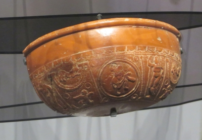 Roman Samian Ware in the York Minster Museum