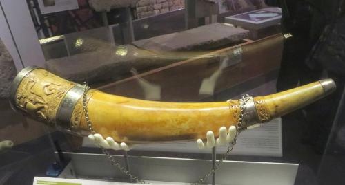 Ulf's Horn, in York Minster Museum