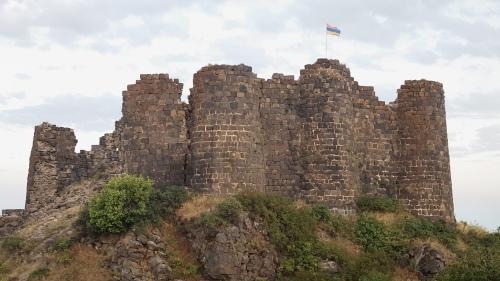Amberd fortress in Armenia