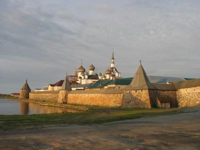 The Sovoletsky Monastery, White Sea, Russia