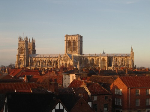 York Minster, photographed from Marks and Spencers, from Wikimedia Commons