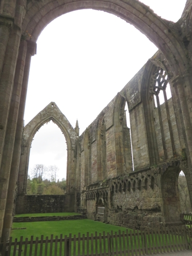 Inside the east end of Bolton Abbey Priory