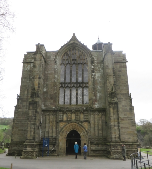 West end of Bolton Abbey Priory church