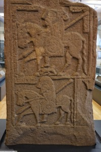 Reverse of the Benvie cross-slab, McManus Museum and Art Gallery, Dundee