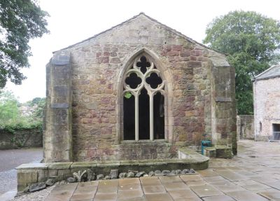 East end of the erstwhile chapel of St John at Skipton Castle