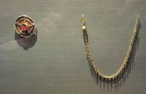 Visigothic jewellery in the Museu de Lleida