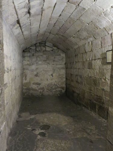 The dungeon of Skipton Castle