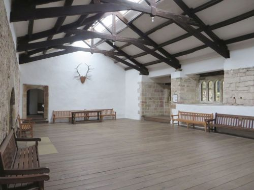 Banqueting hall of Skipton Castle