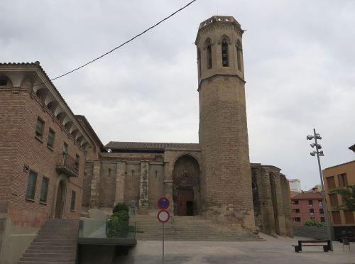 The tower and portal of Sant Llorenç de Lleida