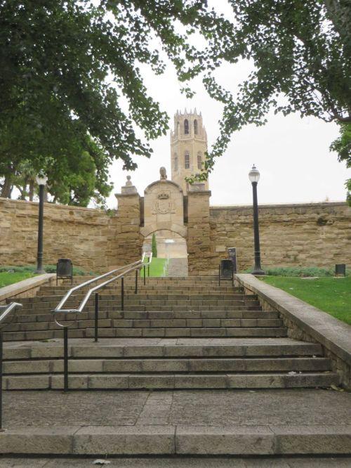 Entry to the complex of the Seu Vella de Lleida