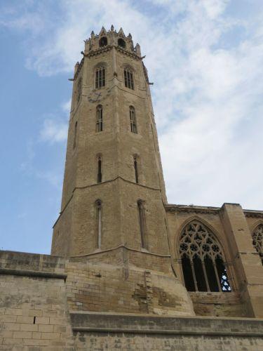 Tower of the Seu Vella de Lleida