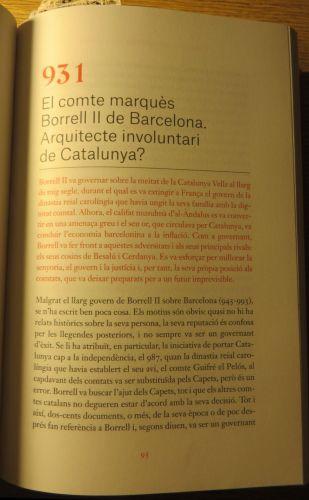 First page of Jonathan Jarrett, 'El comte marquès Borrell II de Barcelona: arquitecte involuntari de Catalunya?', trans. Mònica Molera i Jordà, in Borja de Riquer (ed.), Vides catalanes que han fet història (Barcelona 2020), pp. 95–102